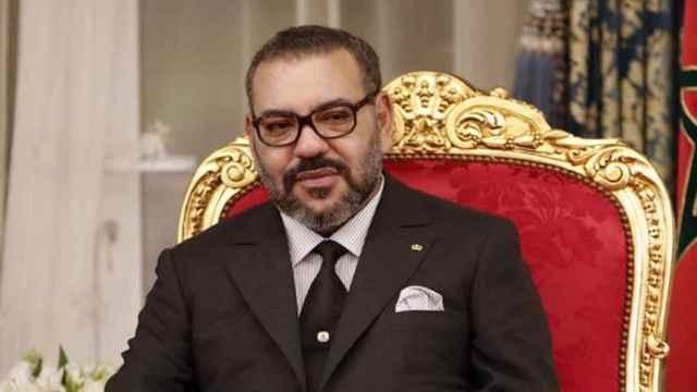 El rey Mohamed VI de Marruecos.