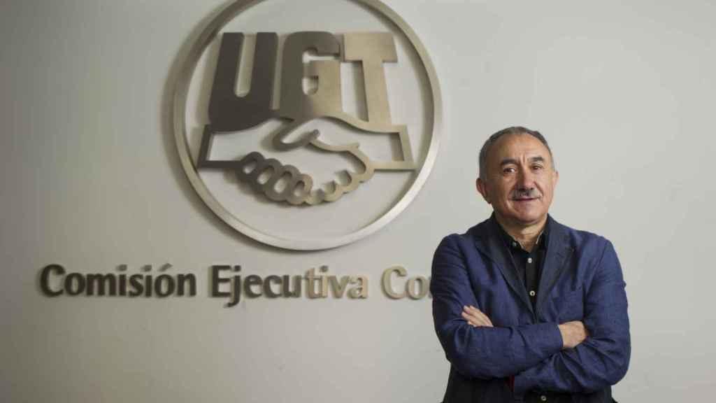 Pepe Álvarez, secretario general de UGT.