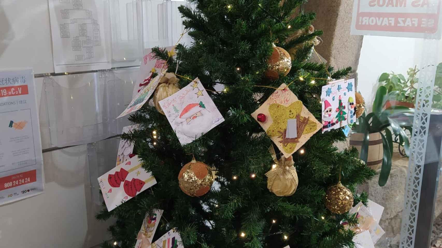 Miranda do Douro | Postales escolares de Navidad 1
