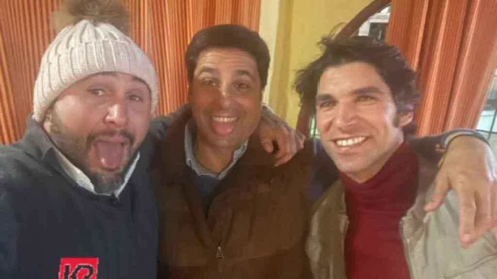 Los hermanos Rivera han pasado la Navidad juntos.