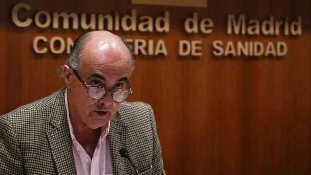 El viceconsejero Antonio Zapatero.