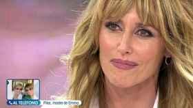 La presentadora ha roto a llorar en directo en 'Viva la vida'.
