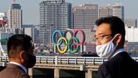 Los aros olímpicos fueron desmontados temporalmente el pasado mes de agosto.