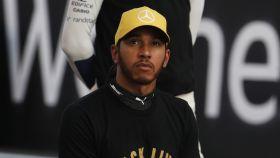 Lewis Hamilton, durante un Gran Premio de Fórmula 1 de la temporada 2020