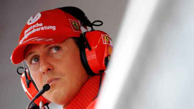 Michael Schumacher, durante un Gran Premio de Fórmula 1