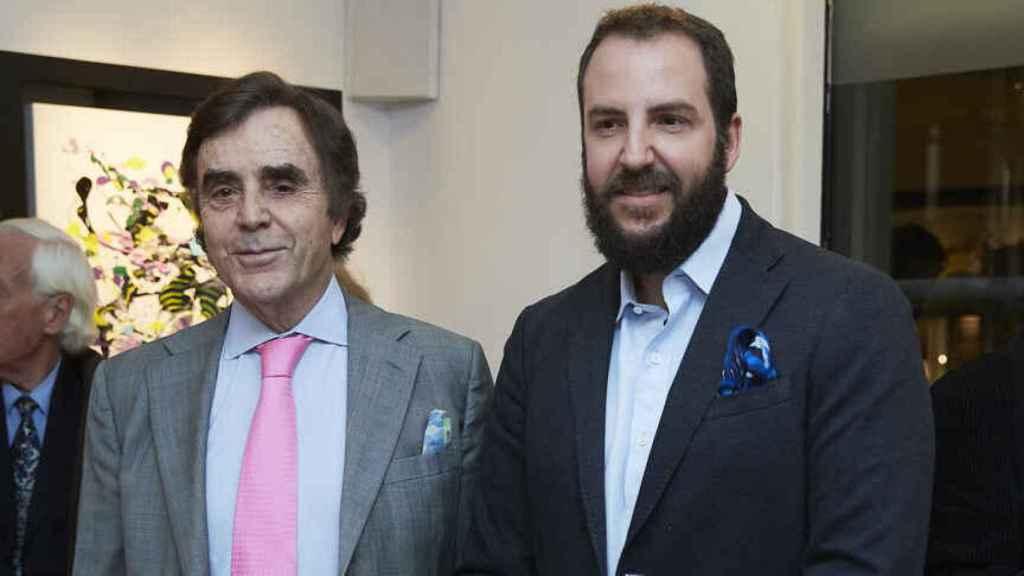 Manolo Segura y Borja Thyssen.