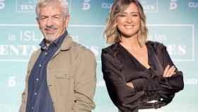 Carlos Sobera y Sandra Barneda (Mediaset)