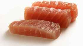 Tacos de atún crudo.