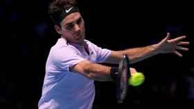 Roger Federer, durante un torneo de 2019
