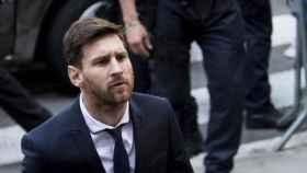 Leo Messi, en el juicio de Hacienda