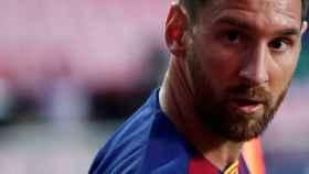 Leo Messi, durante un partido del Barcelona de la temporada 2019/2020