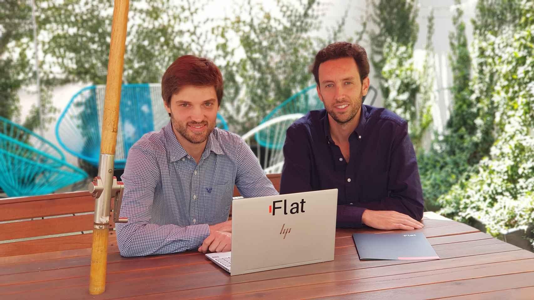 Bernardo Cordero y Víctor Noguera, fundadores de Flat.mx