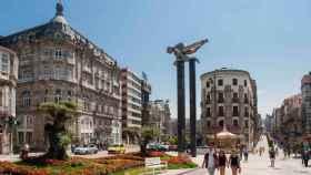 Porta do Sol de Vigo.