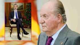 Felipe VI y Juan Carlos.