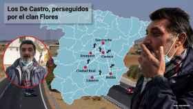 La familia gitana que lleva nueve años huyendo por España para que el clan de los Flores no los mate