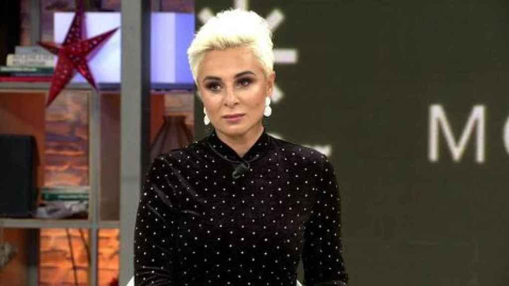Ana María Aldón en Telecinco.
