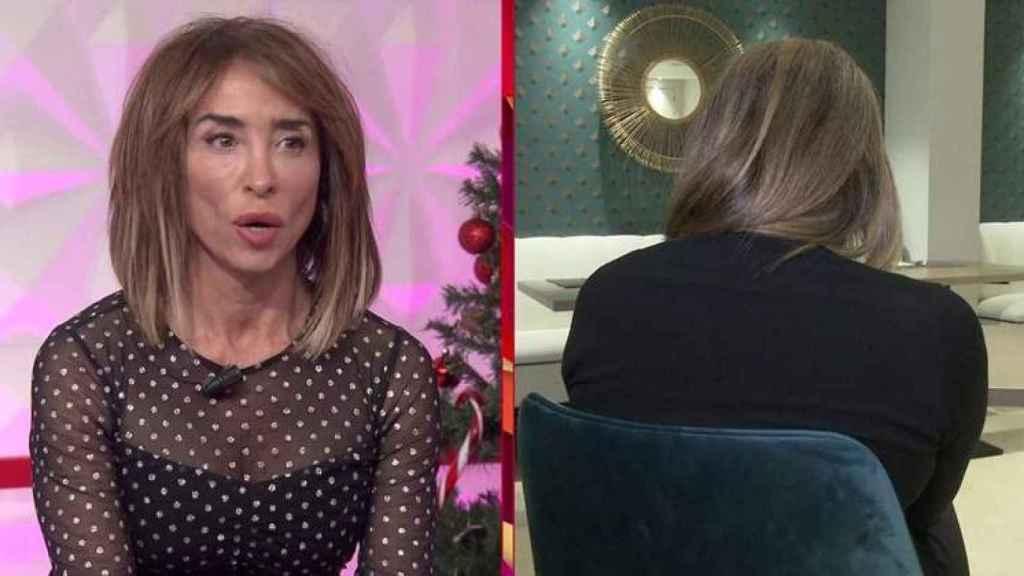 María Patiño y la supuesta amante de Antonio David en 'Socialité'.