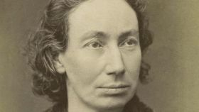 Retrato de Louise Michel.