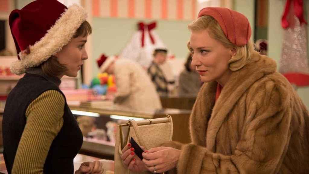 Cate Blanchett y Rooney Mara se enamoran. Normal.