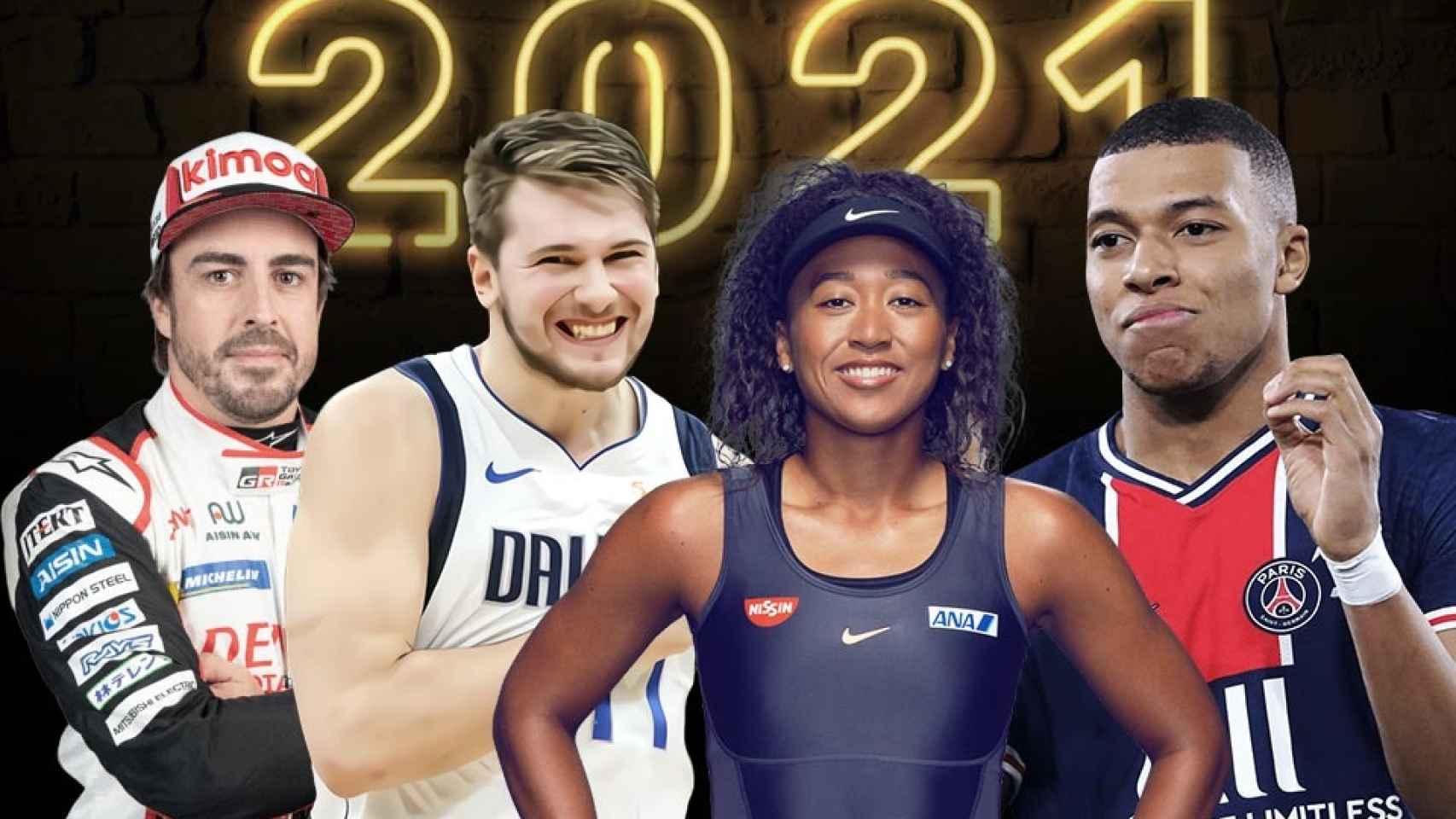 21 deportistas que serán protagonistas en 2021