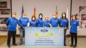 Ford España céntimo solidario