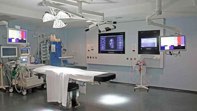 Un quirófano del hospital Nuestra Señora del Rosario de Ibiza, equipado con alta tecnología.