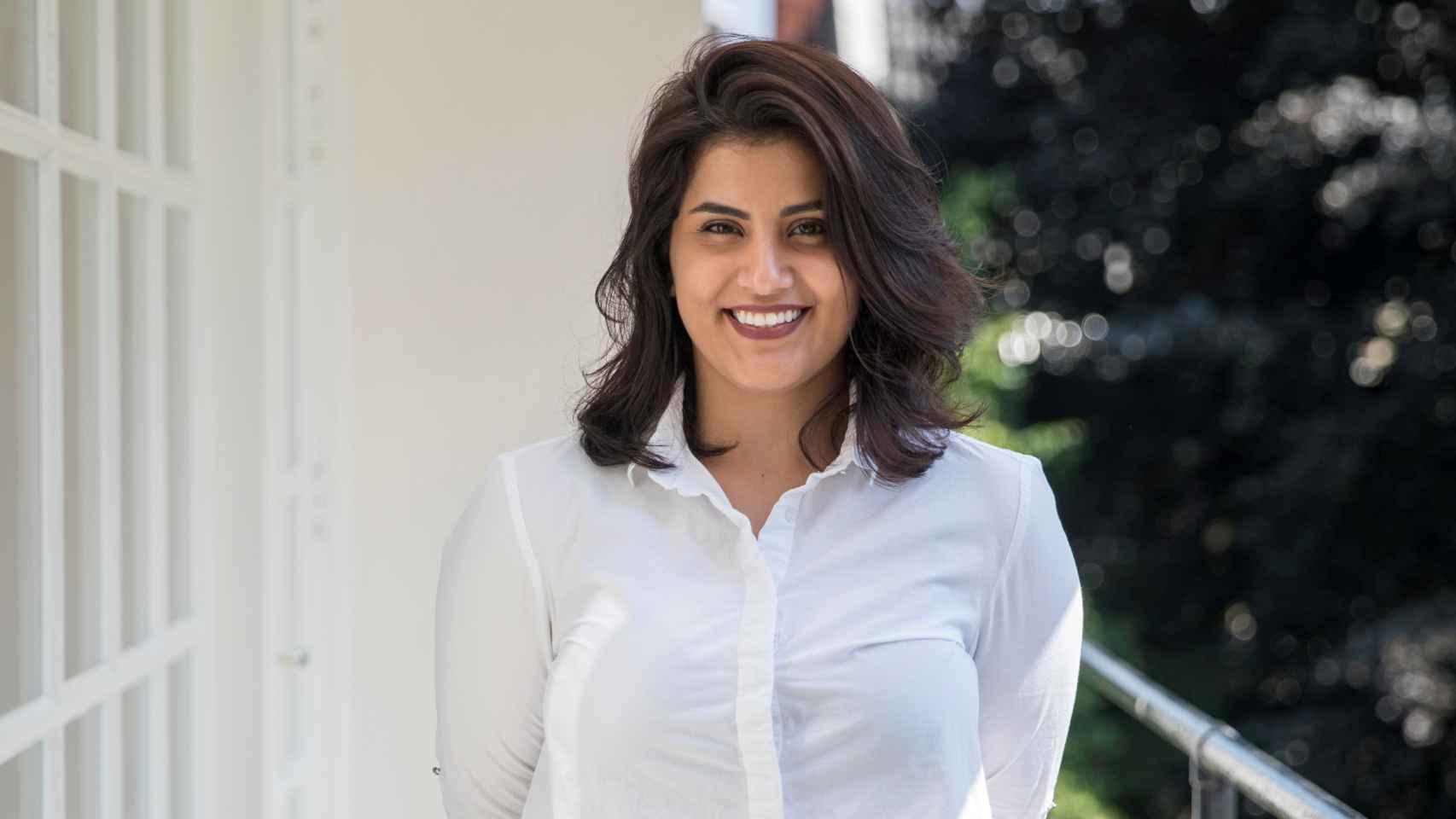 La activista por los derechos de las mujeres, Loujain al Hathloul, en una imagen de archivo.