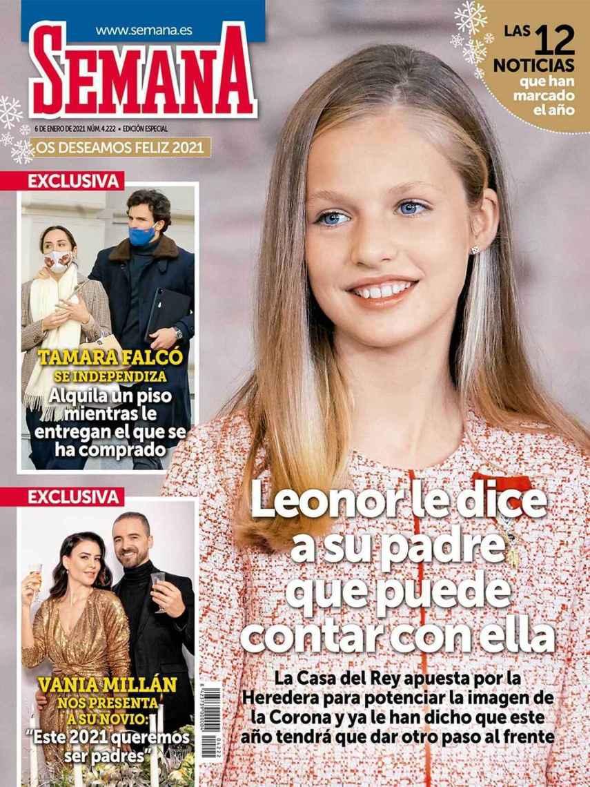 Vania Millán en portada de 'Semana'.