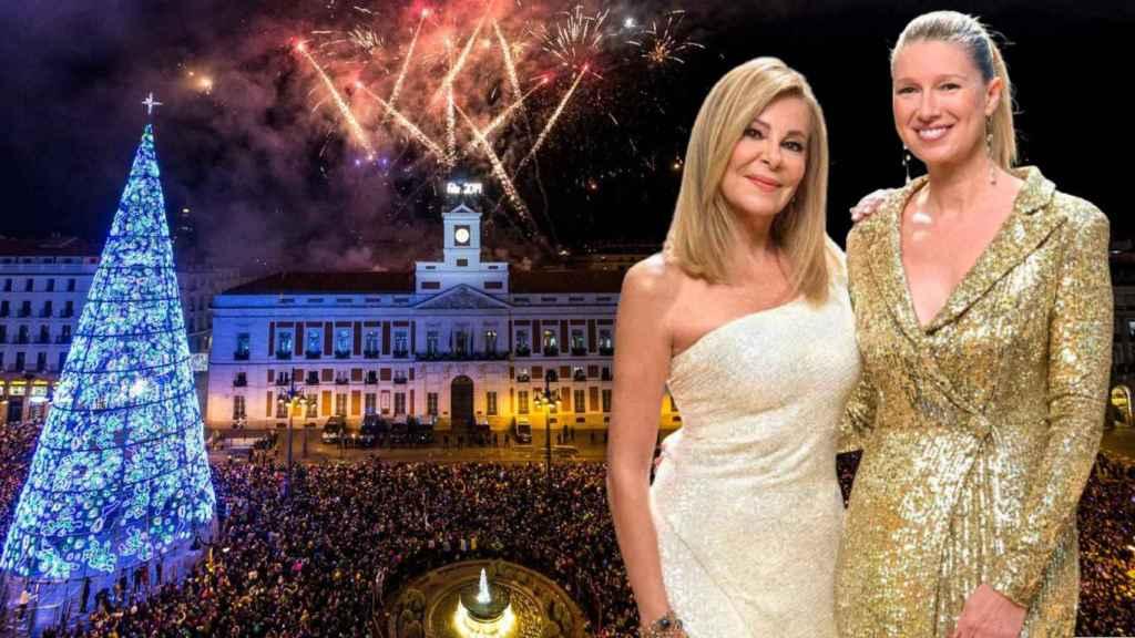 Ana Obregón y Anne Igartiburu tendrán 'público' en la Puerta del Sol.