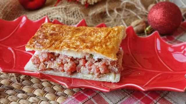 Receta de Steak Tartare, un hojaldre relleno de tartar a la pimienta