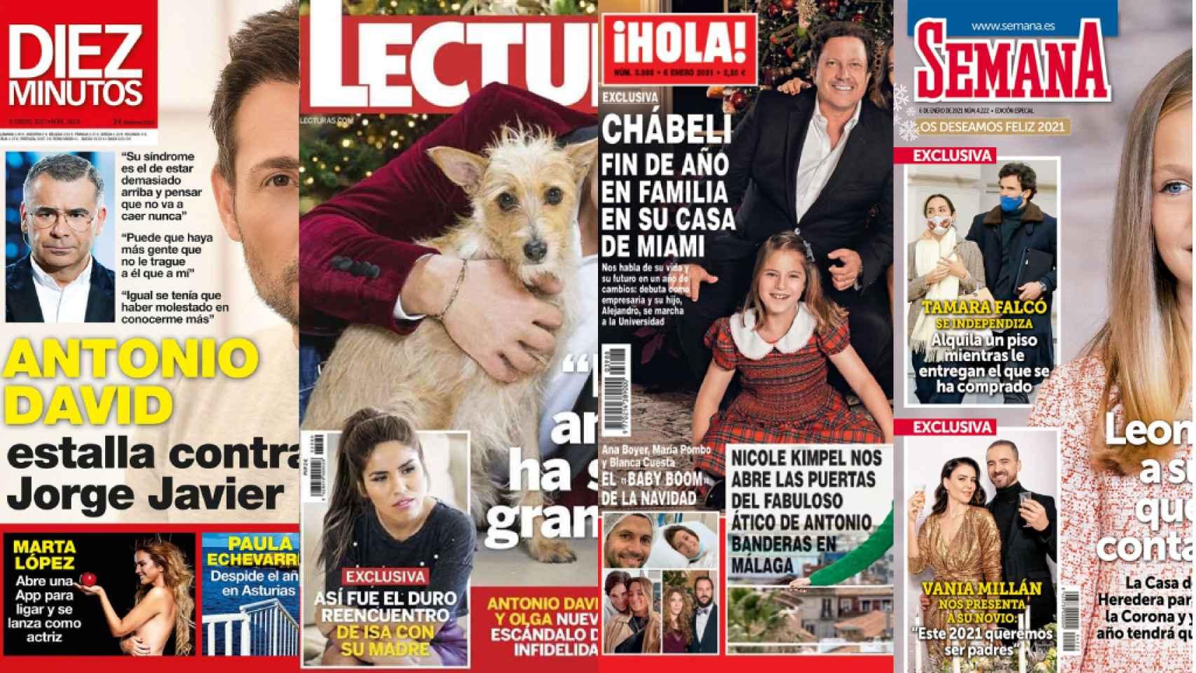 Revistas del miércoles.