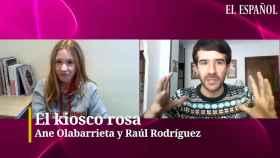 Ane Olabarrieta y Raúl Rodríguez en el kiosco rosa, en vídeo.