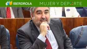 José Manuel Rodríguez Uribes, durante una comparecencia