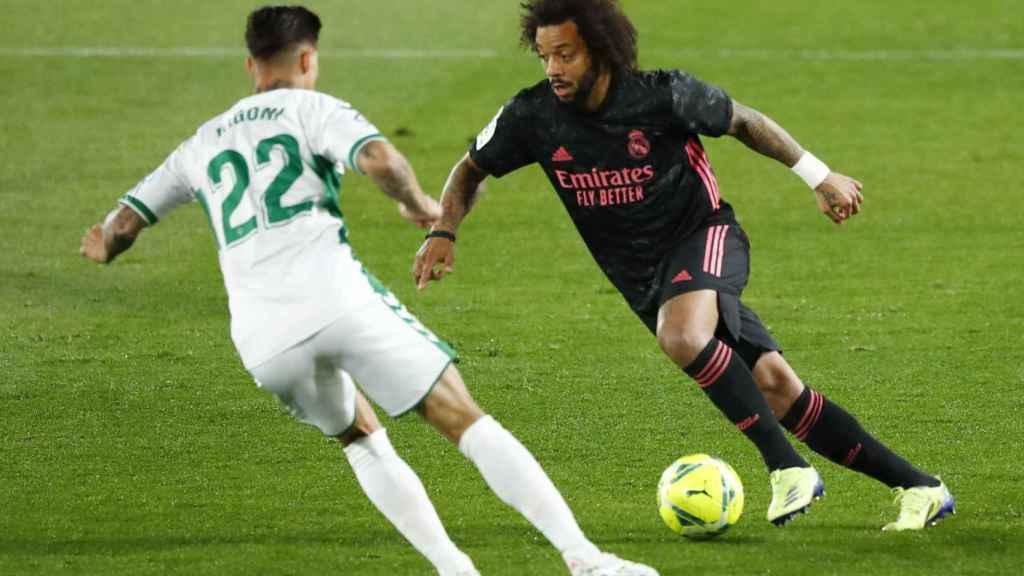 Rigoni presiona a Marcelo
