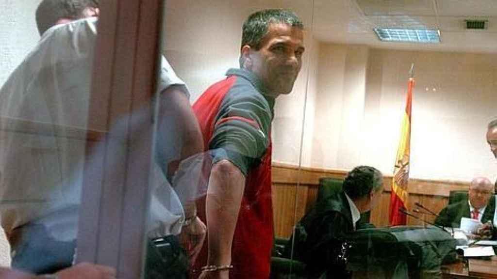 'Gadafi', durante el juicio por el asesinato de José Aseán, en 2006. Efe