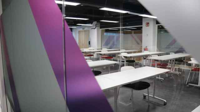 Una de las clases del nuevo espacio educativo de The Valley.