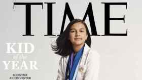Gitanjali Rao, niña del año de la revista 'Time'.