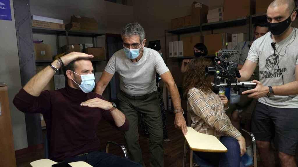 La serie de RTVE 'HIT' se rodó durante la pandemia.