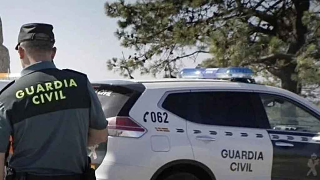 Un efectivo de la Guardia Civil.