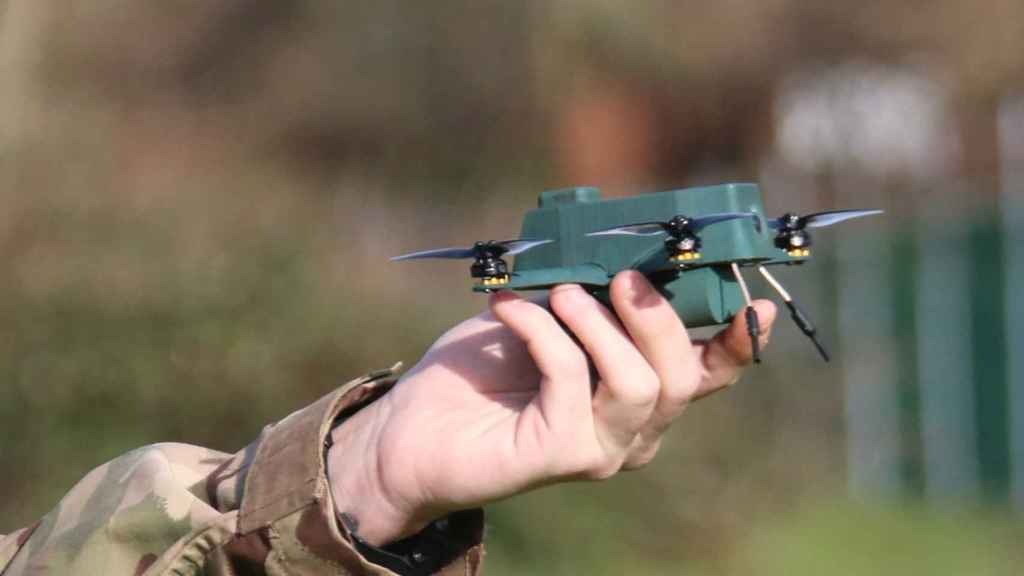Dron escarabajo.