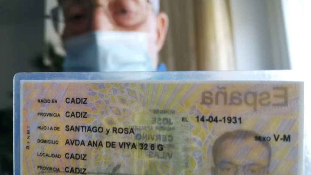 José Cerviño, nacido en Cádiz el 14 de abril de 1931.