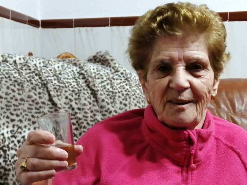 Emerenciana Valencia Gutiérrez, nacida el 8 de diciembre de 1931.