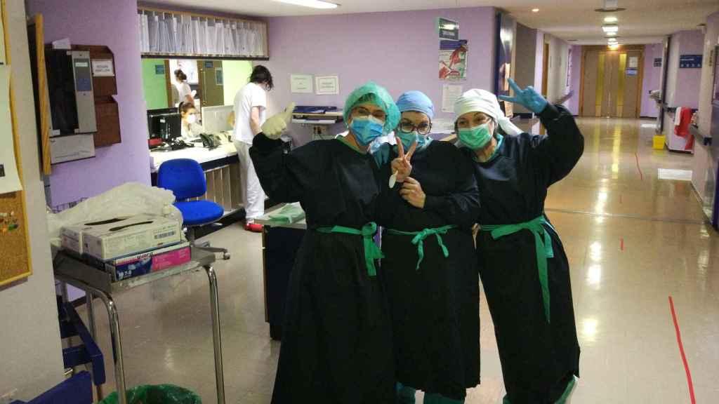 Médicos del departamento de neurología.
