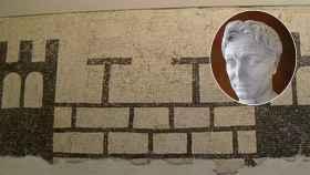 Mosaico de Pompaelo, la ciudad fundada por Pompeyo.