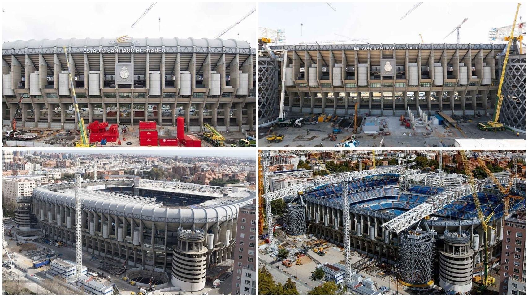 El cambio del Santiago Bernabéu en 2020