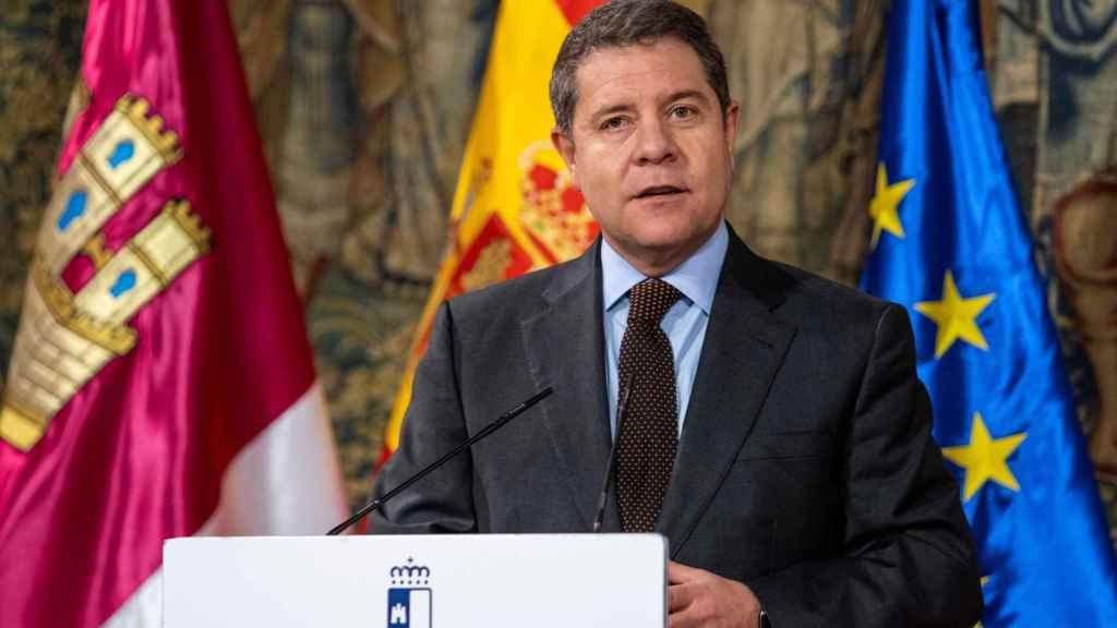 El presidente de Castilla-La Mancha, Emiliano García Page.