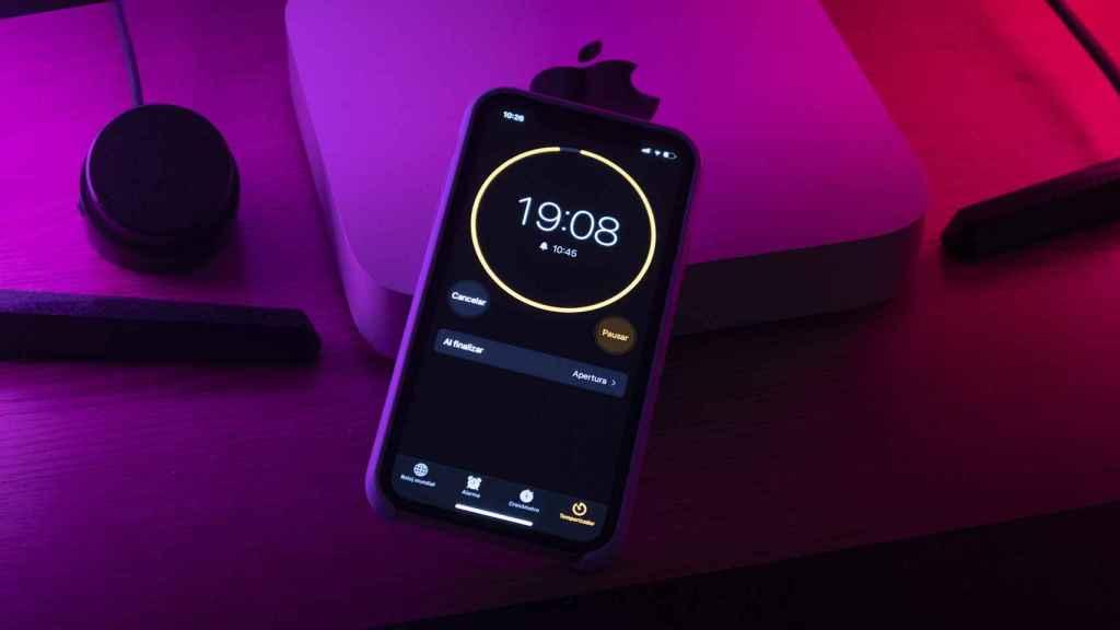 Temporizador iPhone