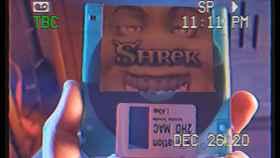 Disquete con la película Shrek