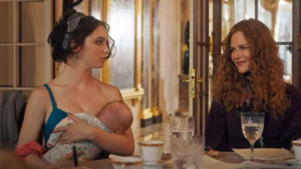 Matilda De Angelis (Elena) y Nicole Kidman (Grace) en 'The Undoing'.