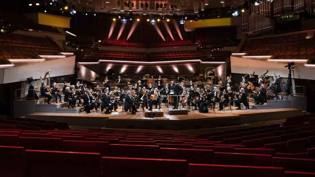 Orquesta Filarmónica de Berlín.